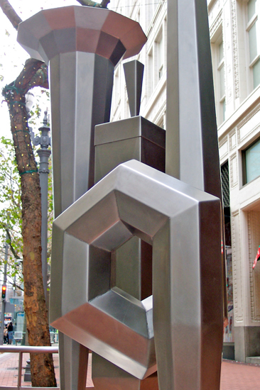Cris Bruch, Whistlestop for an Organ Teacher, 2009, stainless steel
